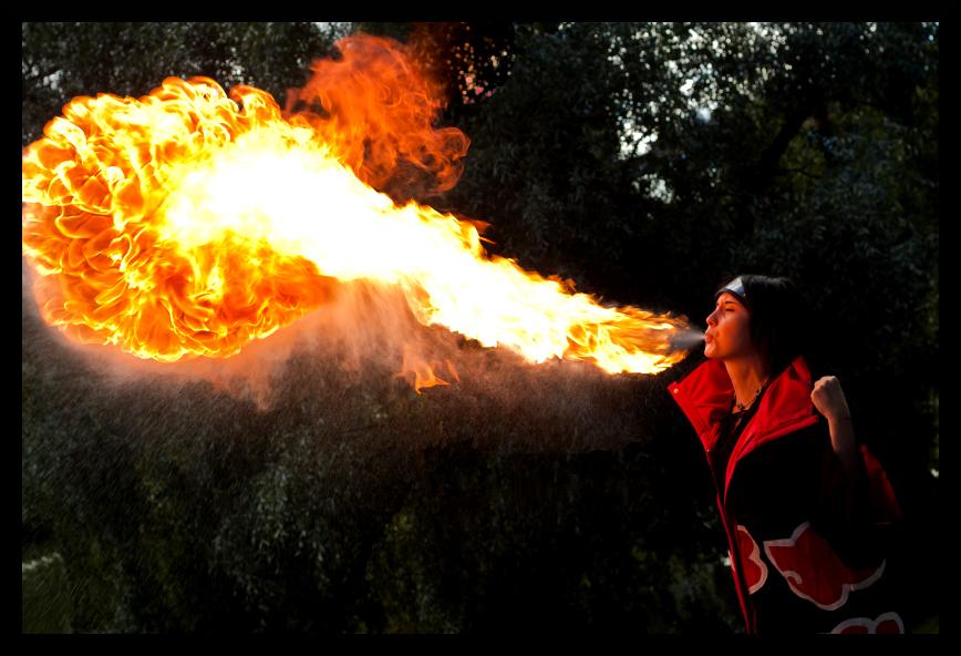 Fireflow no Jutsu! by Minorea