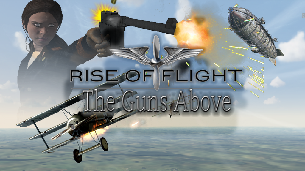 Rise of Flight\ The guns above by nicnac446