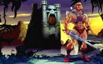 He-Man and GraySkull Castle
