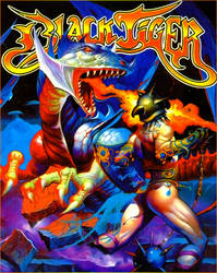 BlackTiger game cover remastered
