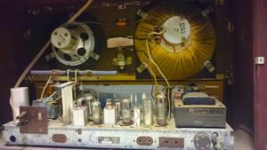 Vintage Radio Inside