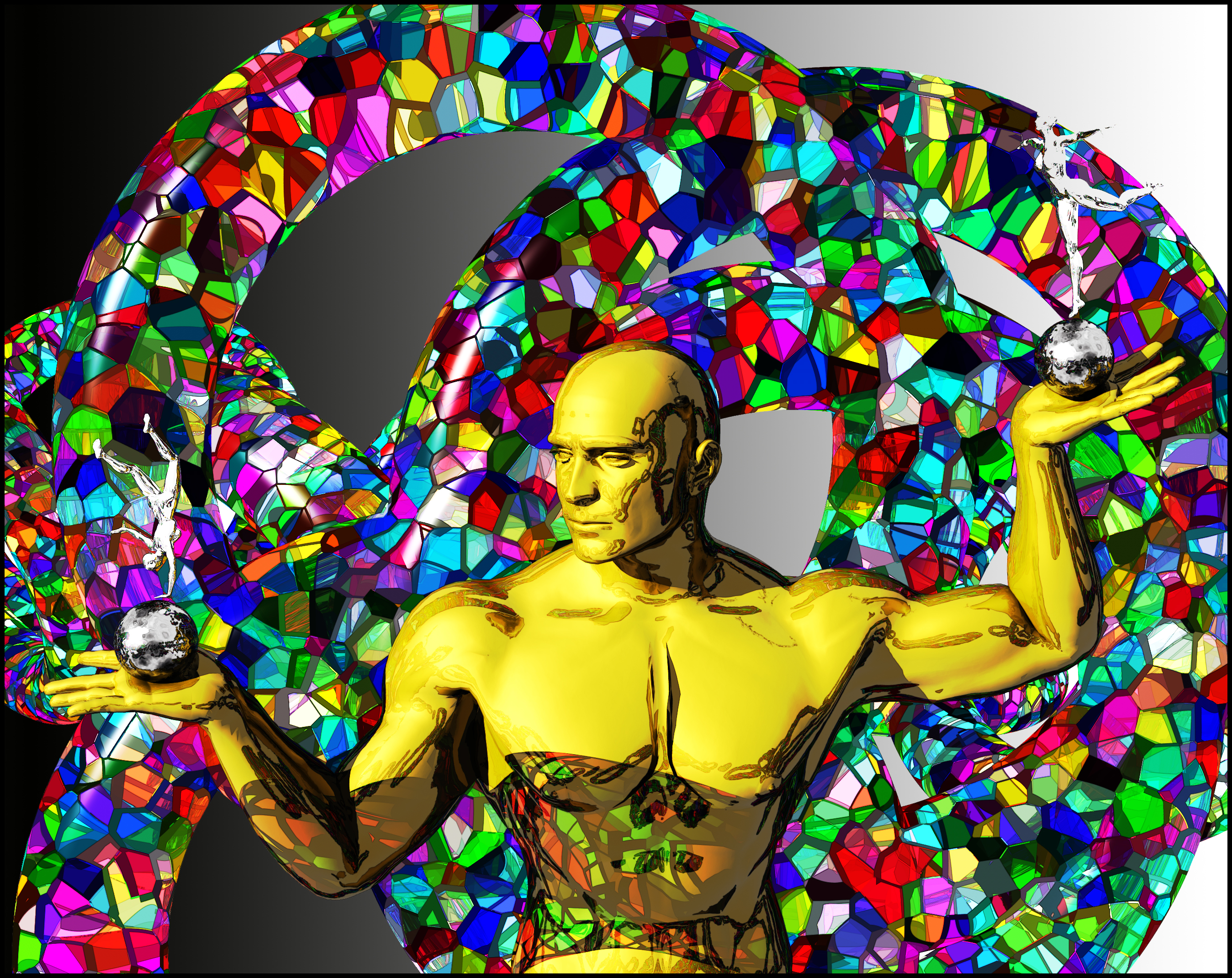 Metal Human - a Poser 90's image tribute