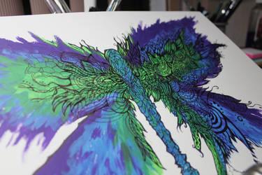 Butterfly, process by Kumokazan