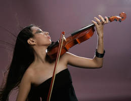 Girl With Violin 2 by b-e-c-k-y-stock