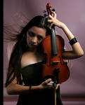 Girl With Violin 7