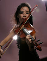 Girl With Violin 8 by b-e-c-k-y-stock