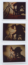 bike polaroids by Stephanie-Anne