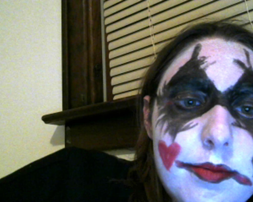 harley quinn makeup 2 by imaginaryfriend6