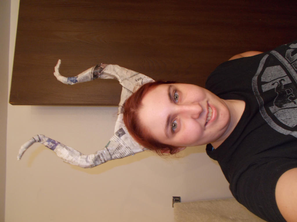 maleficent horns progress 2 by imaginaryfriend6