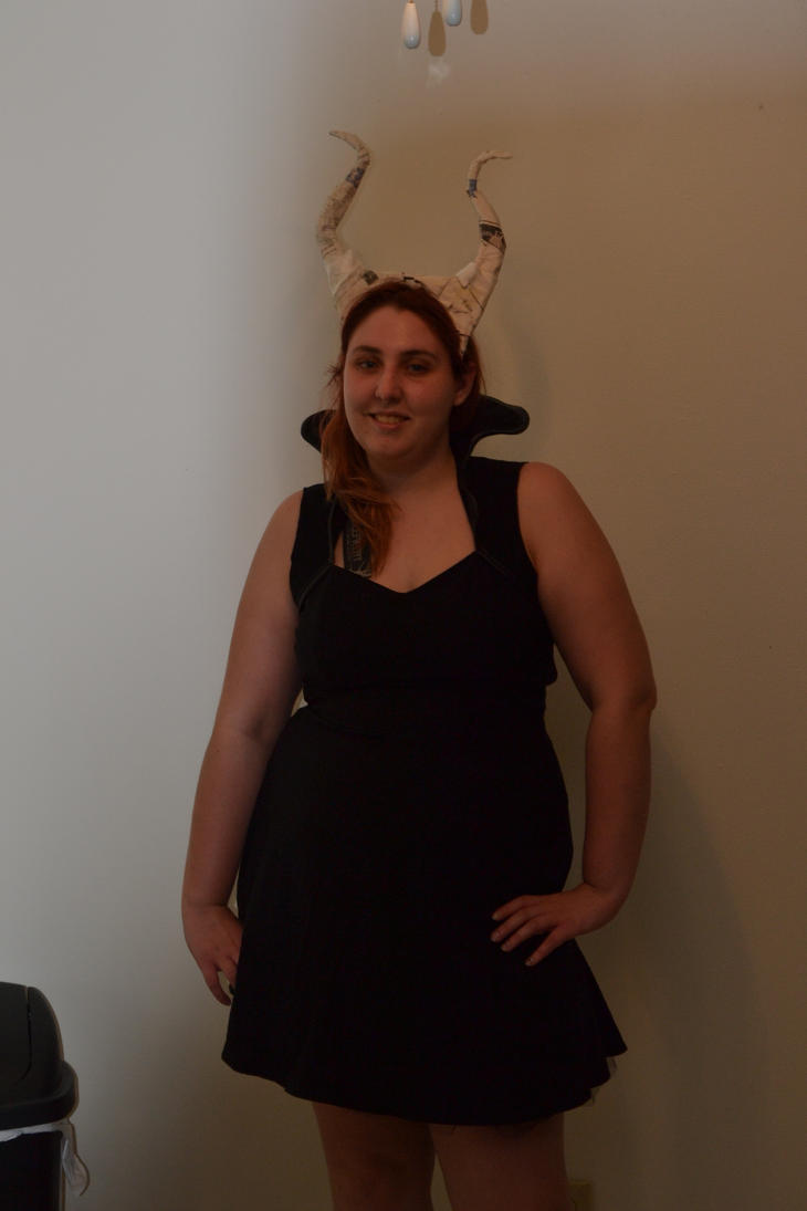 maleficent costume progress by imaginaryfriend6