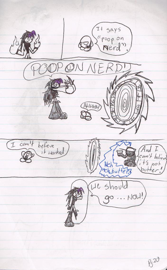 Episode 3 pg 20 by TheFalconlazer