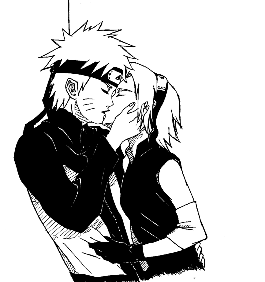 naruto kiss sakura by alyree on deviantart