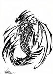 Tribal Dragon 4