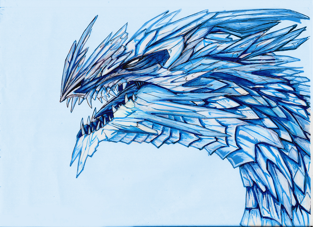 Diamond dragon by Ruth-Tay