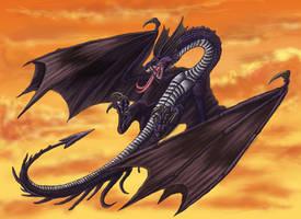 The Black Dragon by Ruth-Tay