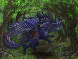 Tropical Griffin by Ruth-Tay