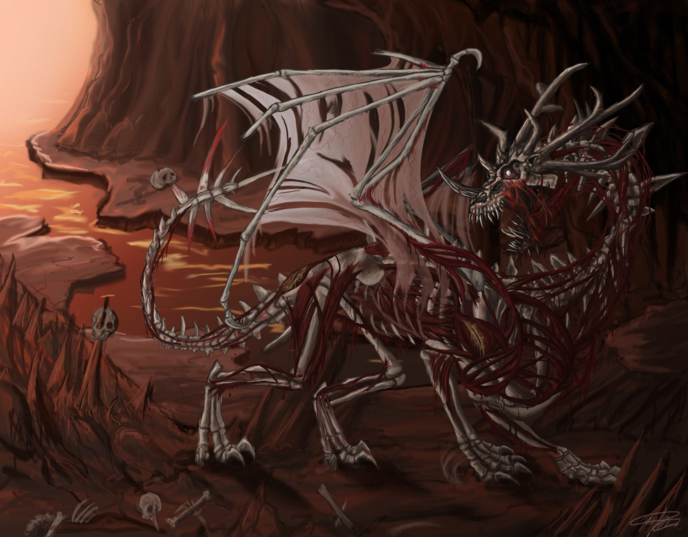 The Dragon of Death by Ruth-Tay