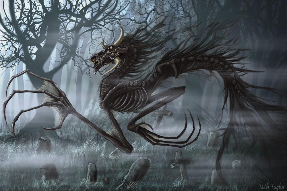 Plėšrūnai Dragon_of_spirits_by_Ruth_Tay