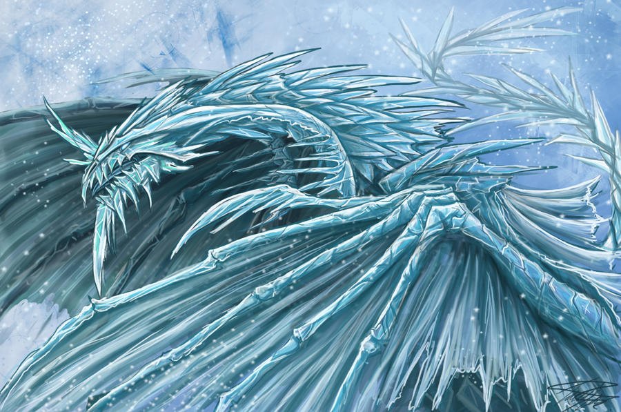 I said Hey~ It's cold in here! (Frostmoth Thread, Nariko only!) Ice_Dragon_by_Ruth_Tay