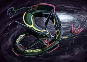 Rayquaza by Ruth-Tay