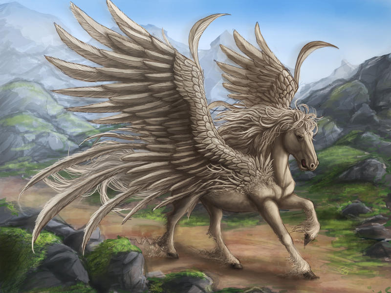 Pegasus by Ruth-Tay
