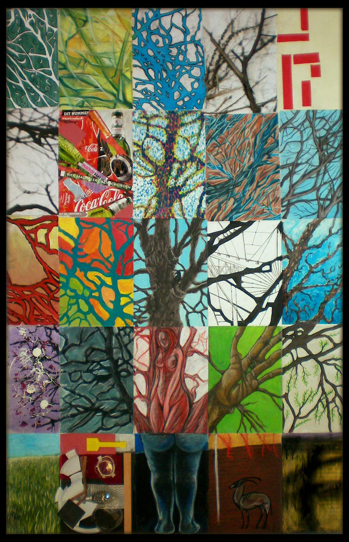 The tree of art styles by Ruth-Tay