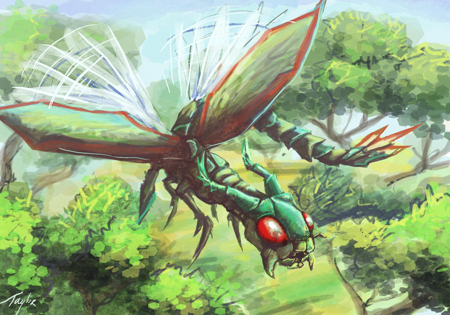 Flygon by Ruth-Tay