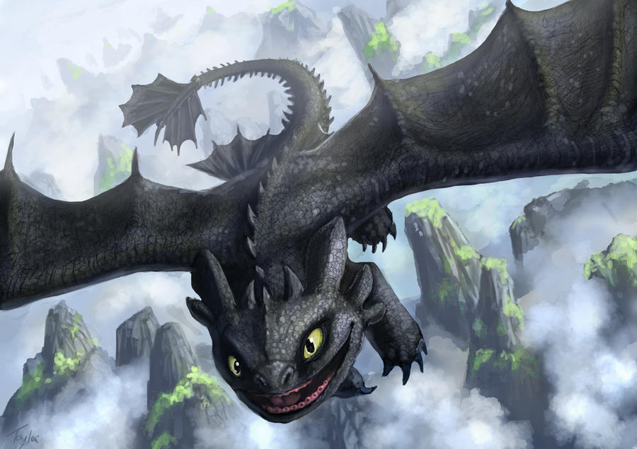 Toothless by Ruth-Tay