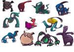 Monster Concept Sheet 1