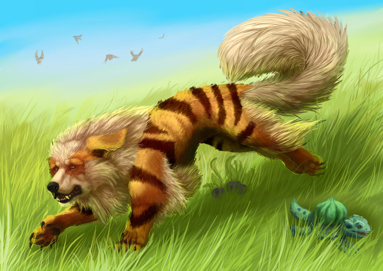 how to get growlithe in pokemon x