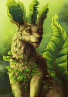Leafeon by Ruth-Tay