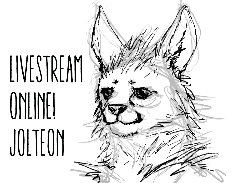 Jolteon-livestream by Ruth-Tay