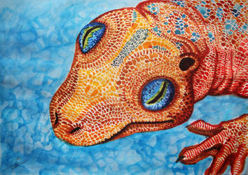 Gecko by Ruth-Tay