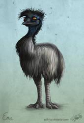 Emu by Ruth-Tay