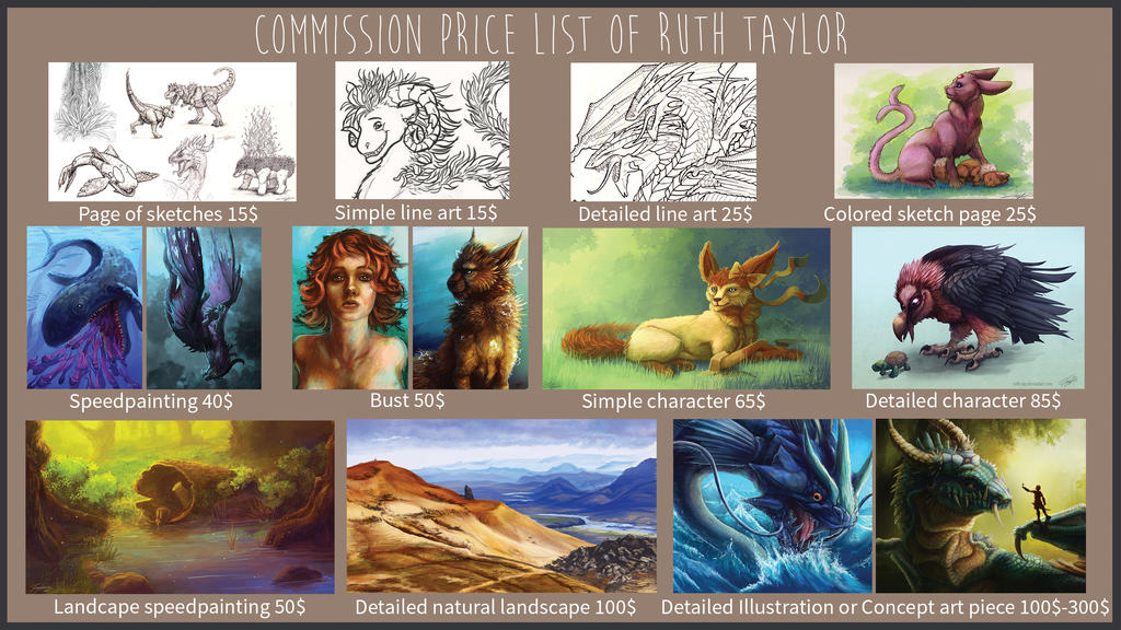 Commision sheet oktober 2015 by Ruth-Tay