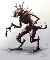 Bug Alien concept