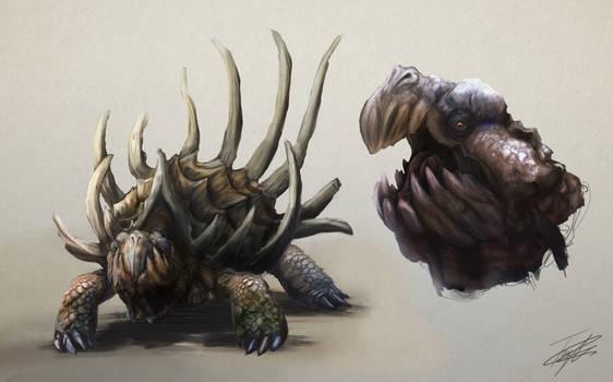 Horned Tortoise