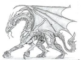 acient dragon by Ruth-Tay