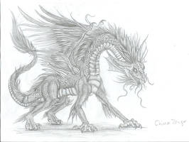 Chinees dragon by Ruth-Tay