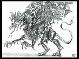 The First Dragon of Death by Ruth-Tay