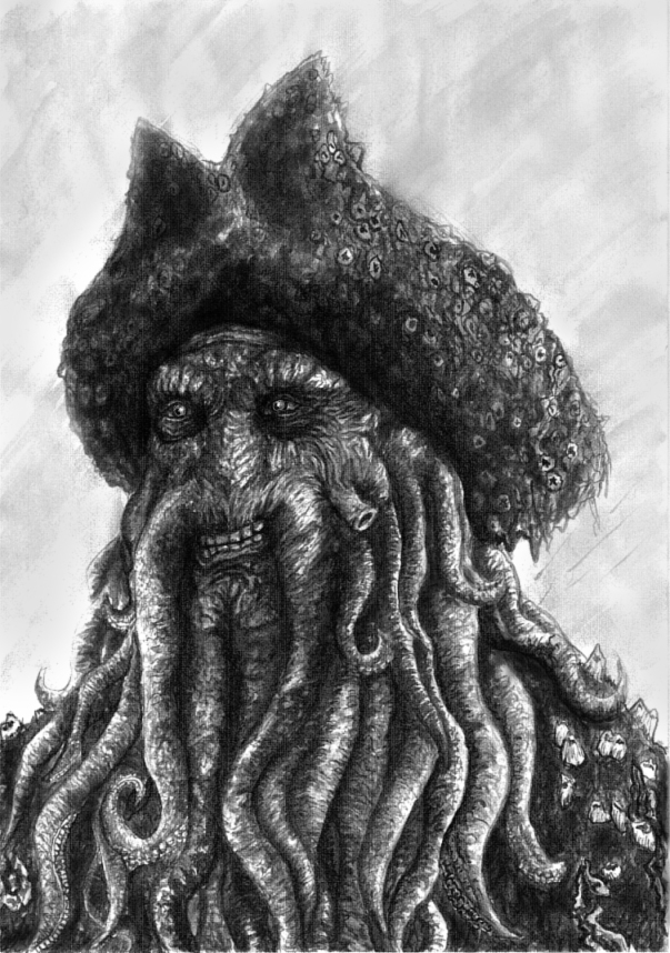 The grin of Davy Jones by Ruth-Tay