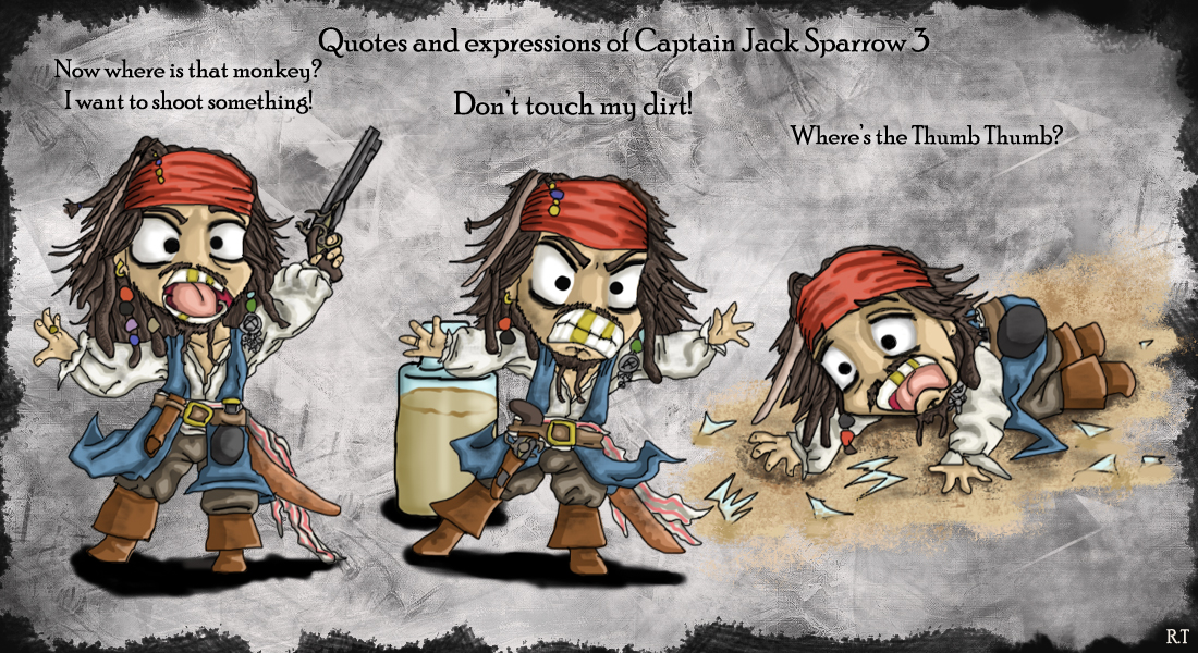 Quotes of little Cap'n Jack 3 by Ruth-Tay