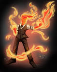 Grillby by P-RiSe