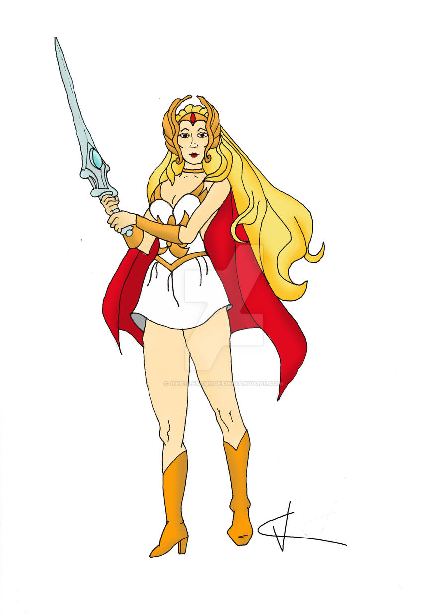 She-Ra by RestlessUrge