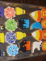 Halloween Cookies '08 by CassieArin
