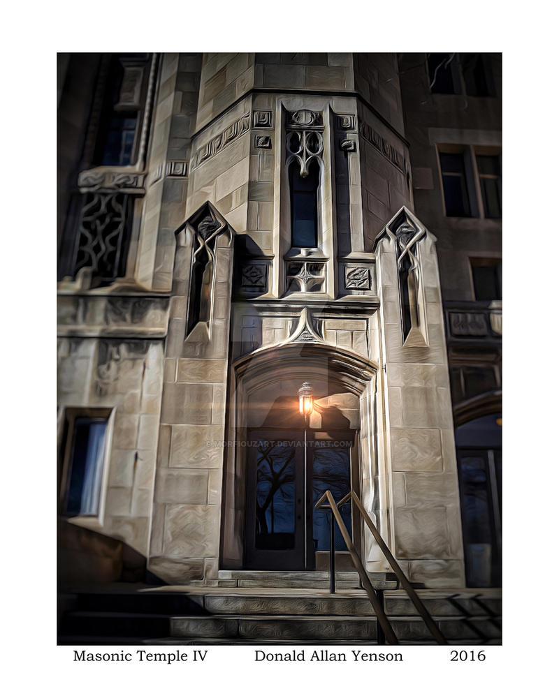 Masonic Temple IV (low) by MorfiouzArt