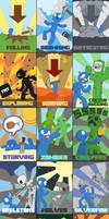 Minecraft Death Poster WIP