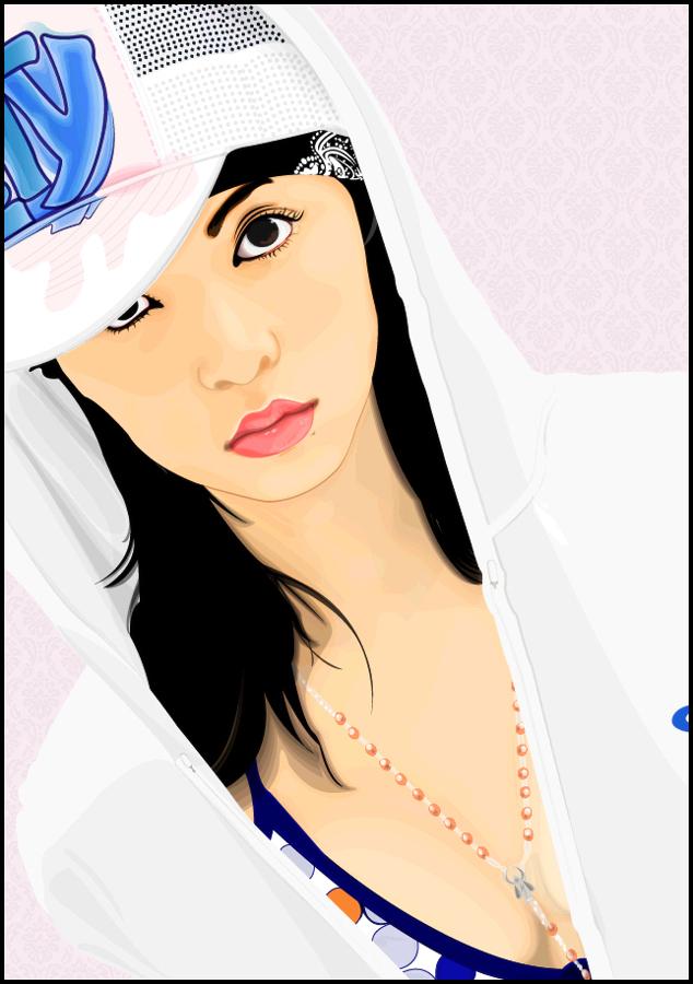 Mayuko Iwasa Vector by mojaam