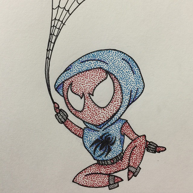Chibi Scarlet Spider by Jacks-sis13