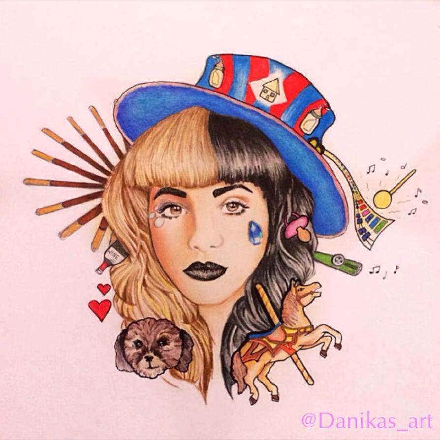 Melanie Martinez Drawing By Danikas Art26 On Deviantart